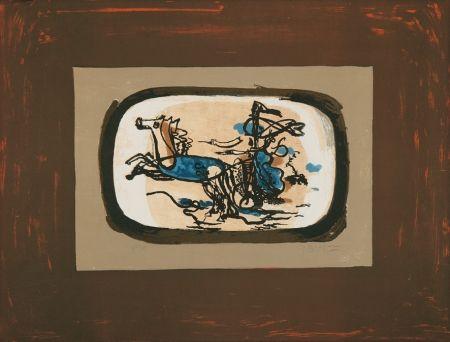 Litografia Braque - Le char II