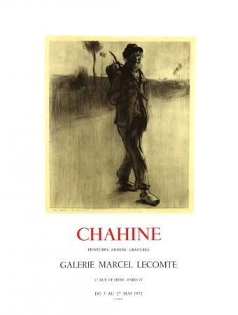 Litografia Chahine - Le Chemineau