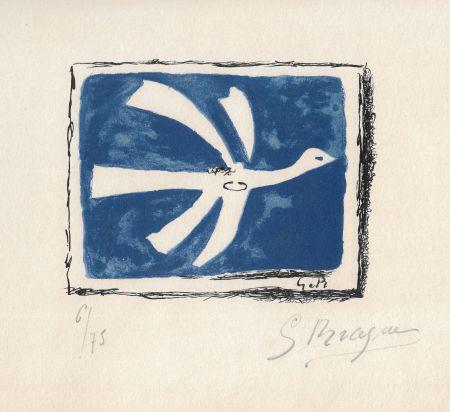 Litografia Braque - Le ciel bleu