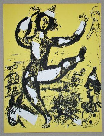 Litografia Chagall - Le Cirque
