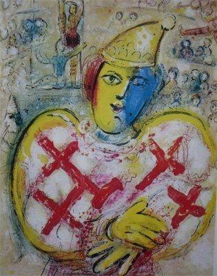 Litografia Chagall - Le Cirque, planche  10