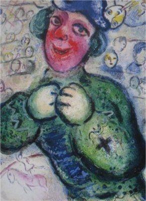 Litografia Chagall - Le Cirque, planche 16