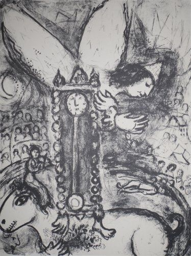 Litografia Chagall - Le Cirque, planche 25
