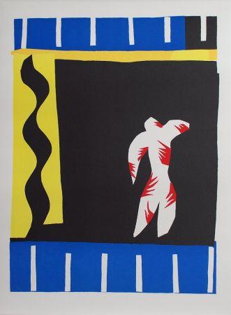 Collografia Matisse - Le Clown (The Clown)
