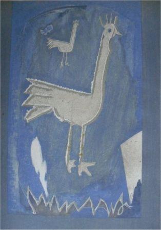 Litografia Braque - Le Coq