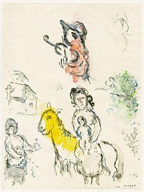 Monotipo Chagall -