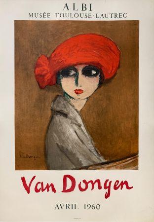 Litografia Van Dongen - Le Coquelicot