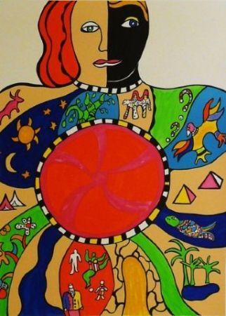 Litografia De Saint Phalle - Le couple