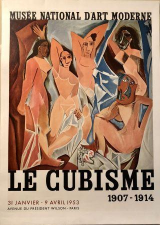 Litografia Picasso - Le Cubisme 1907-1914 - Musée National D'A