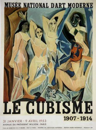 Litografia Picasso - Le Cubisme  , D'apres Les Demoiselles D'Avignon