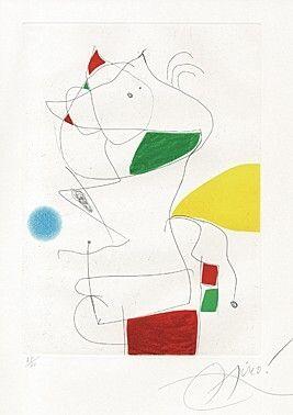 Acquaforte E Acquatinta Miró -