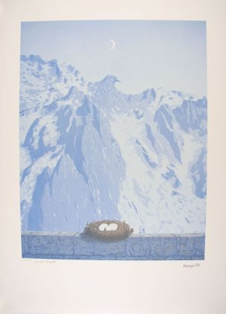 Litografia Magritte - Le Domaine d'Arnheim - The Arnheim Field