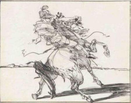 Incisione Weisbuch - Le Dragon