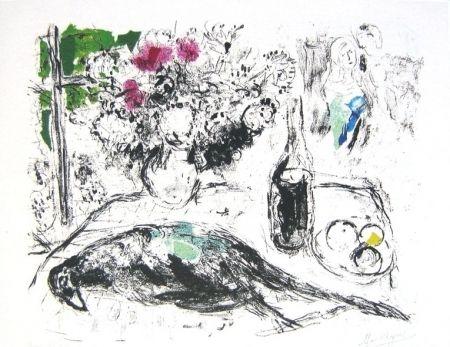Litografia Chagall - Le faisan