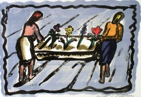Litografia Bartolini - Le fioraie