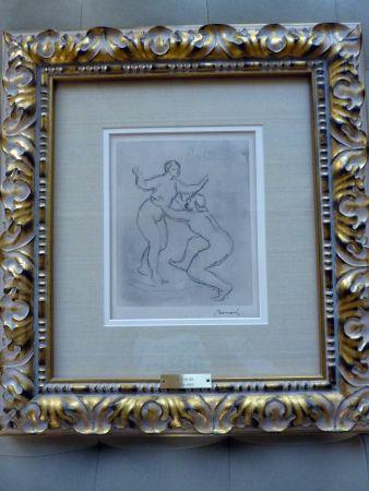 Incisione Renoir - Le Fleuve Scamandre