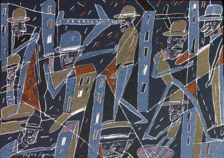 Litografia Segui - Le froid bleu des contre nuits 4