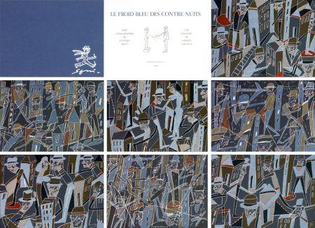 Litografia Segui - Le froid bleu des contre nuits 7