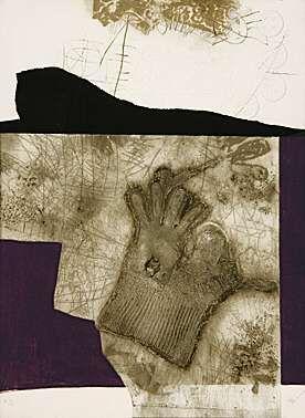 Acquatinta Clavé - Le gant de New York