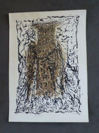 Litografia Riopelle - Le hibou VII