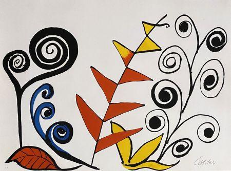 Litografia Calder - Le jardin fantastique