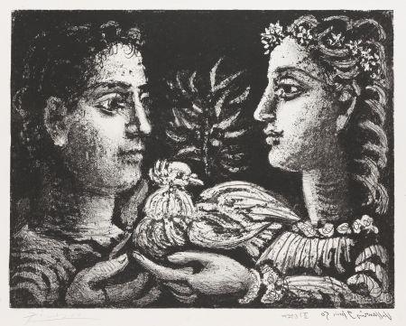 Litografia Picasso - Le Jeneusse