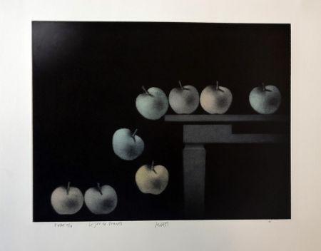 Maniera Nera Avati - Le jeu de pommes