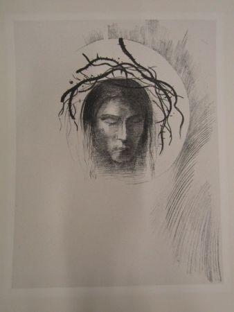Litografia Redon - Le jour enfin....
