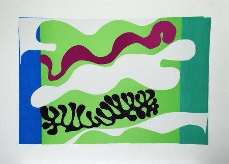 Collografia Matisse - Le Lagon II (Lagoon II)