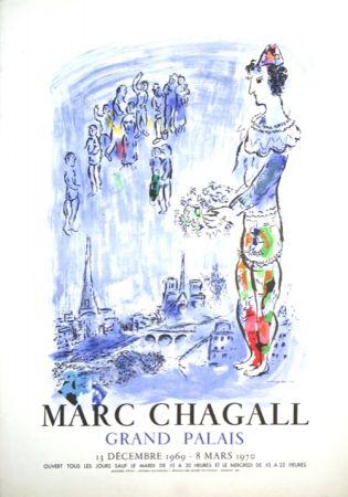 Litografia Chagall - Le Magicien