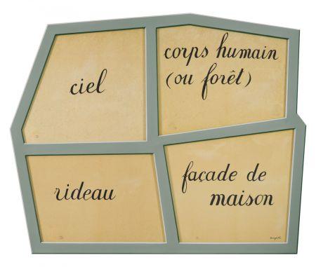 Litografia Magritte - Le Masque Vide