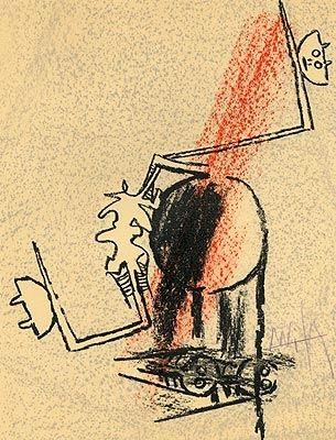 Litografia Lam - Le Monde de l'art...