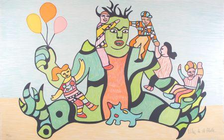 Litografia De Saint Phalle - Le Monstre