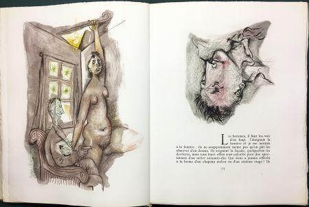 Libro Illustrato Prassinos - LE MUR (Jean-Paul Sartre). 1945-1946.