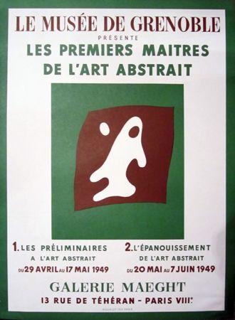 Litografia Arp - Le Musee de Grenoble, Galerie Maeght