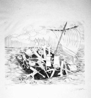 Libro Illustrato Arman - Le naufrage de Méduse