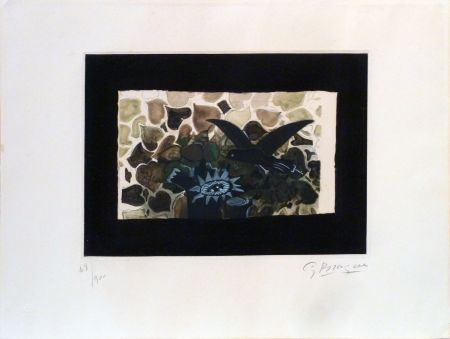 Acquaforte E Acquatinta Braque - Le Nid Vert