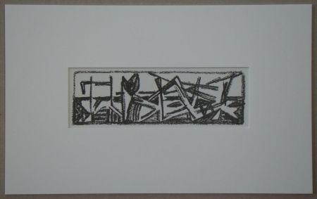 Litografia Van Velde - Le Noir est une couleur