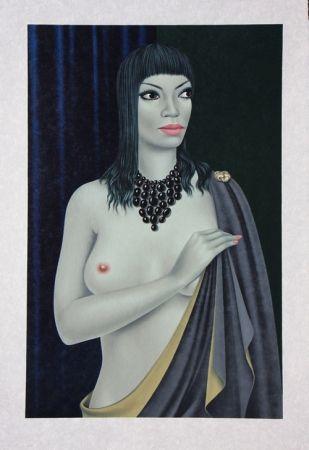 Litografia Labisse - Le Nu avec le Cap - Nude with a Cape