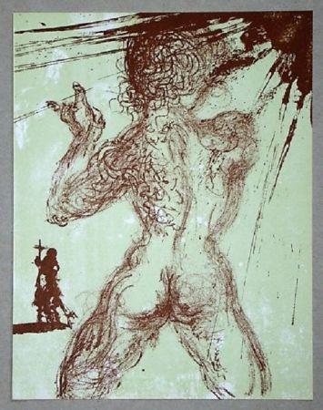 Litografia Dali - Le Pécheur