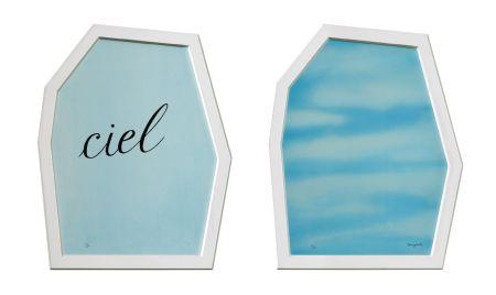 Litografia Magritte - Le Palais Des Rideaux