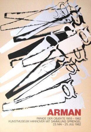 Serigrafia Arman - '' Le Parade des Objets ''
