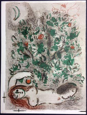 Litografia Chagall - LE PARADIS (II), La Bible, 1960.