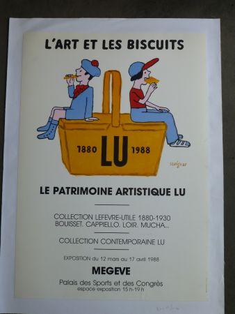 Manifesti Savignac - Le patrimoine artistique LU ,l'art et les biscuits