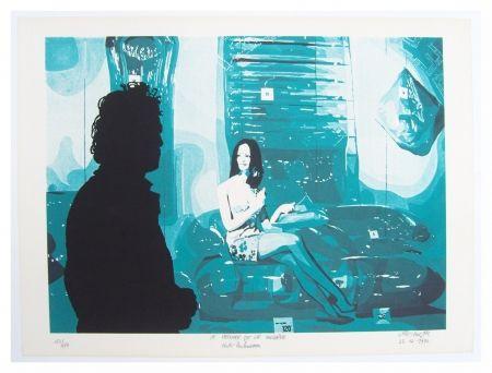 Litografia Fromanger - Le peintre et le modèle