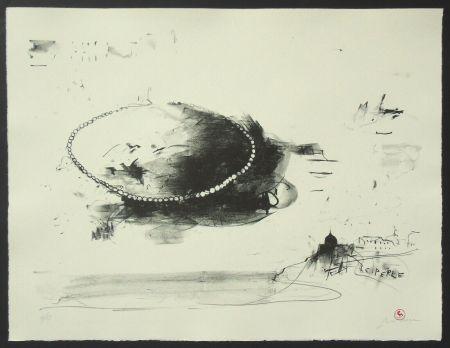 Litografia Pizzi Cannella - Le perle