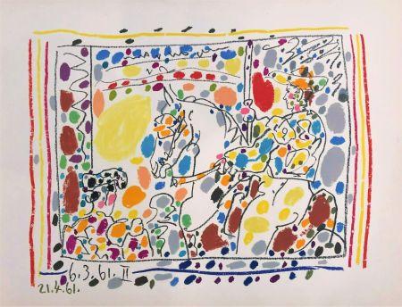 Litografia Picasso - Le Picador II