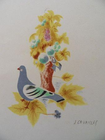 Litografia Cavailles - Le Pigeon