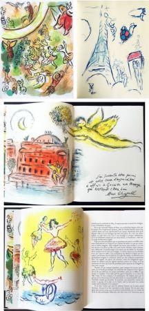 Libro Illustrato Chagall - LE PLAFOND DE L'OPERA DE PARIS. Lithographie originale de Marc Chagall (1965).