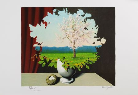 Litografia Magritte - Le Plagiat (Plagiary)